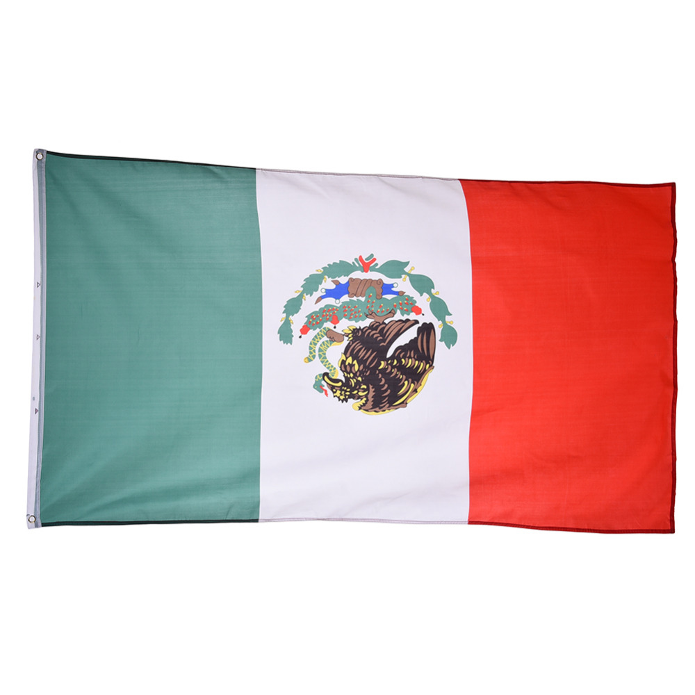 <font><b>Mexico</b></font> Flag Hanging for Festival Home Decoration Office Flag Banner for Activity Parade The <font><b>Olympic</b></font> Games <font><b>World</b></font> <font><b>Cup</b></font>