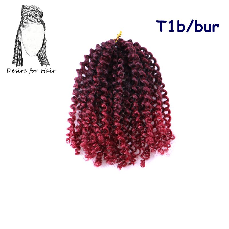 United crochet black curly