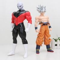 Dragon Ball Super Ultra Instinct GOKU Jiren Figure Migatte Action Figure Toys Model Goku White God DBZ Figurines