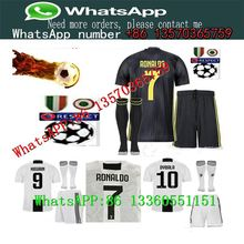 18 19 Juventus RONALDO camisetas de fútbol DYBALA adultos fútbol manga  corta fútbol conjunto uniforme de fútbol de Pjanic traje . b3f3992de17a2