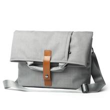 Waterproof Shoulder bag Crossbody Men for Macbook Laptop bag Fashion Casual Tablet 12 inch Oxford Art bag male 2018