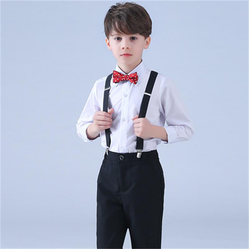 High Quality Childrens Costumes Boys Shirts Pants Sets Pupils Uniforms Boys Trousers Chorus Performances Long High Quality Childrens Costumes Boys Shirts Pants Sets Pupils Uniforms Boys Trousers Chorus Performances Long