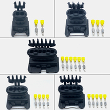 2sets Tyco AMP 2/3/4/5/6 Pins waterproof wire connector 282189-1 282191-1 282192-1 282193-1 282767-2
