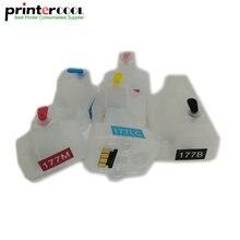 einkshop 177 Compatible Refillable Ink Cartridge For HP 3310 3110 3210 D7460 C5100 C5140 C5183 C6270 C6280 C6180 C6183 C7170