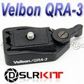 QRA-3 B Mini Quick Release Adapter include QB-3