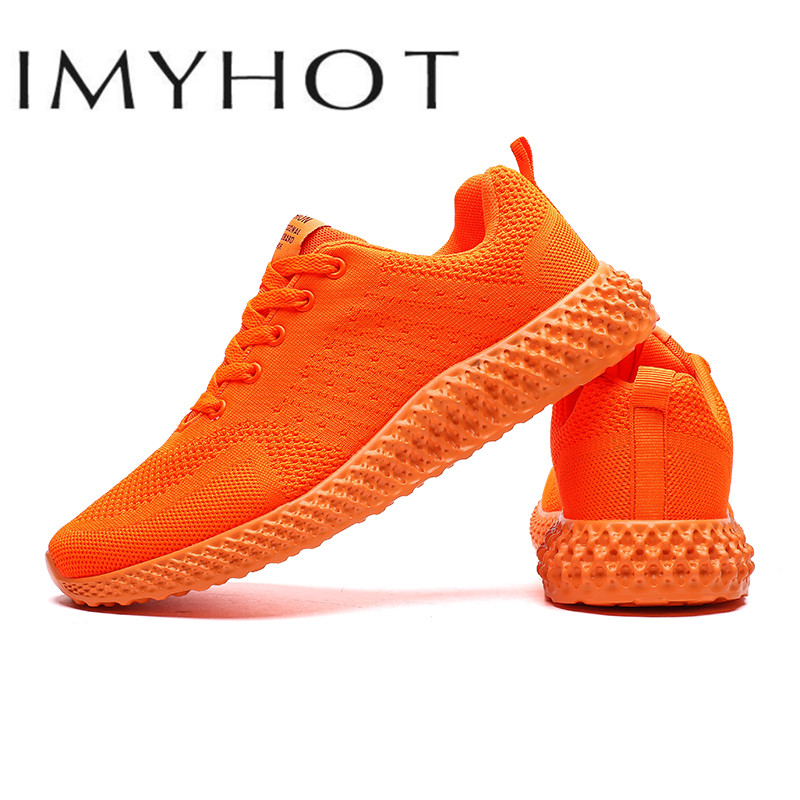Bran Men Running Shoes Breathable Women Trainer Sneakers Zapatillas Hombre Fluorescent shoes  Air Cushion Sport Shoes Cheap|Running Shoes| |  - title=