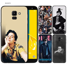 Silicone Case For Samsung Galaxy J4 J6 A6 A8 Plus A7 A9 J8 2018 A5 2017 Soft Cover Shell riverdale cole sprouse Jughead Jones(China)