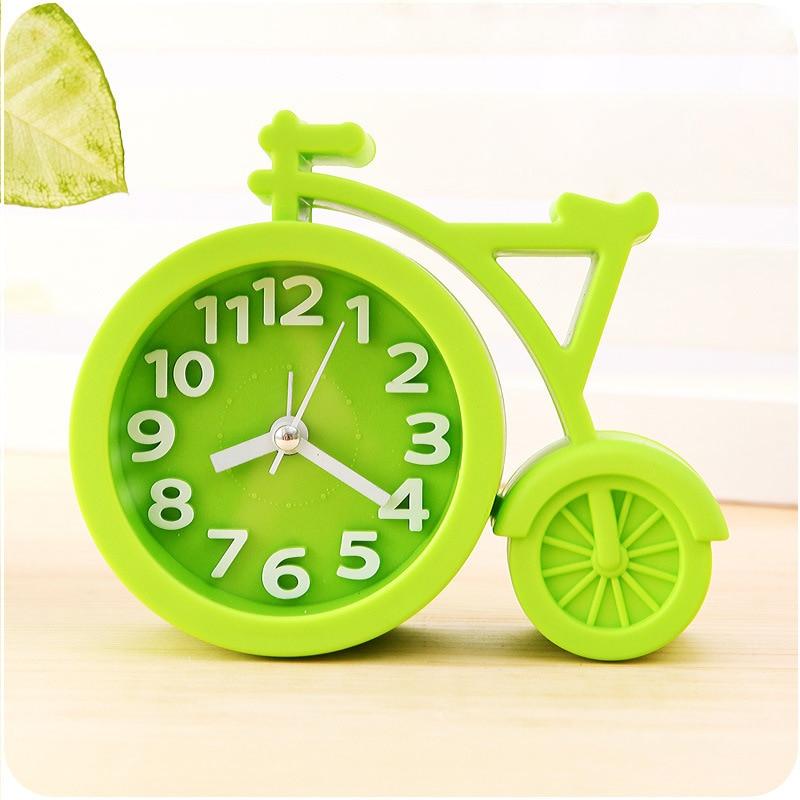 Candy färger Creat Portable mini Mute barn student klocka cykel - Heminredning - Foto 3