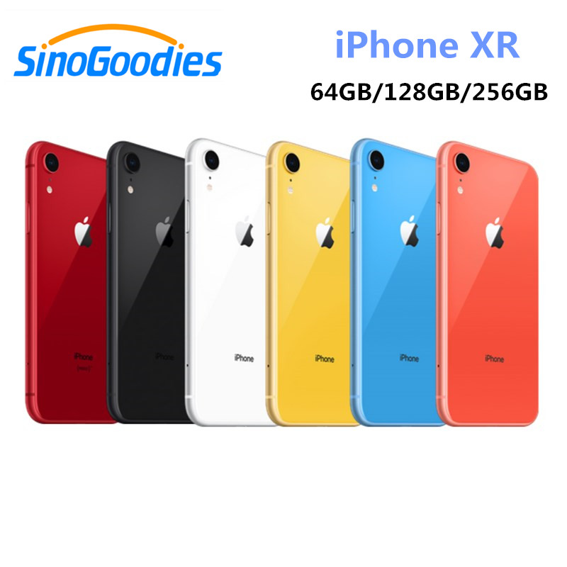 US $890 55 35% OFF New Apple iPhone XR Unlocked Original Mobile Phone Full  Screen Face ID 4G LTE 6 1