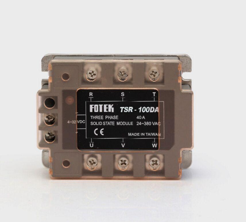 DC control AC three phase Solid state relay TSR-25DA/TSR-60DA /TSR-80DA /TSR-100DA 480V 3 phaseDC control AC three phase Solid state relay TSR-25DA/TSR-60DA /TSR-80DA /TSR-100DA 480V 3 phase