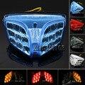Venta caliente de La Motocicleta LED Integrado Luz Trasera intermitente Rojo Para SUZUKI GSX-R600 GSX-R750 2008-2012 GSX-R1000 K9 2009-2011