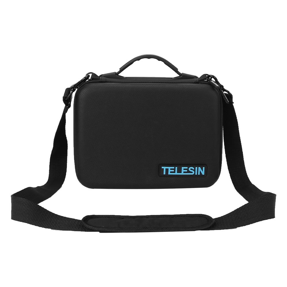 Телесин Водонепроницаемый кейс дорожная Сумочка для хранения Портативный Carry Жесткий сумка чемодан для GoPro6 5 DJI Мавик Pro, spark Drone