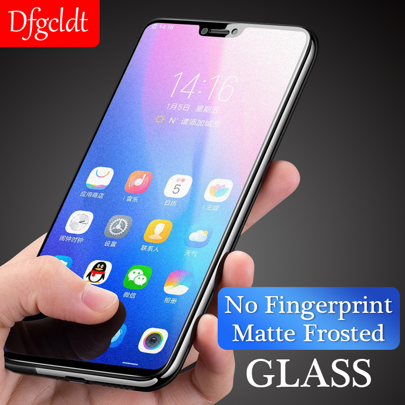 No Fingerprint Matte Frosted  Screen Protector Film On The For Xiaomi Redmi Note 7 6 Pro 4X S2 5X 6X F1 Mix 2s 3 Tempered Glass