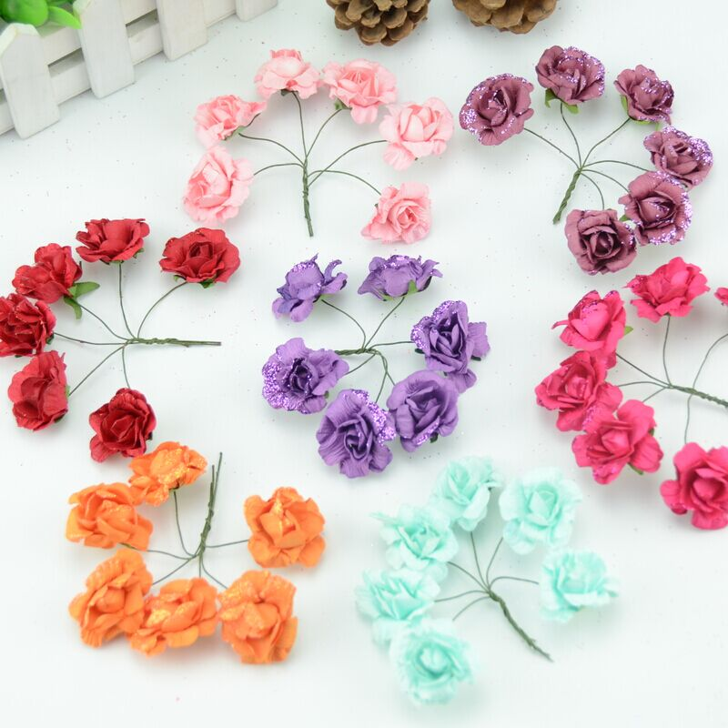 How to make small crepe paper flowers make a crepe paper flower how to make miniature paper flowers images mini mightylinksfo