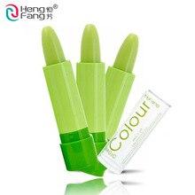 2 шт Heng Fang Magic Lipstick Изменение температуры Цвет Бальзам для губ Постоянный увлажняющий крем для губной помады для макияжа