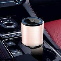 Figo3 Car Charger USB Air Purifier PM2.5 Odor Smoke Formaldehyde Remover Box Negative Ion Oxygen Bar Air Purifying Machine