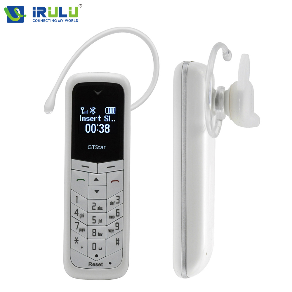 iRULU GTStar BM50 Earphone with MIC Bluetooth Headphone HandFree Dialer also Pocket Cell phone Small Phone for Gift Hot Sale