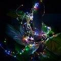 20 LEDs Luces de Alambre de Cobre 2 M Luces de la Secuencia para la Navidad Lámpara de luz Festival de Fiesta de La Boda o la Decoración Del Hogar VER64 P18 0.4