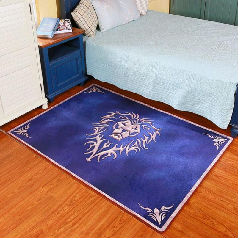 Alfombra creativa con personalidad de World Of Warcraft, dormitorio, cama, habitación Tatami, sofá, mesa de centro, cama Rectangular, máquina de estera frontal