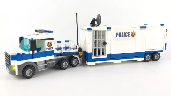 City Police Mobile Command Center Building Blocks Sets Bricks Kids Model Kids Toys Compatible Lepins DIY MODEL lepin city police bulldozer break in building blocks sets bricks kids model kids toys marvel compatible legoe