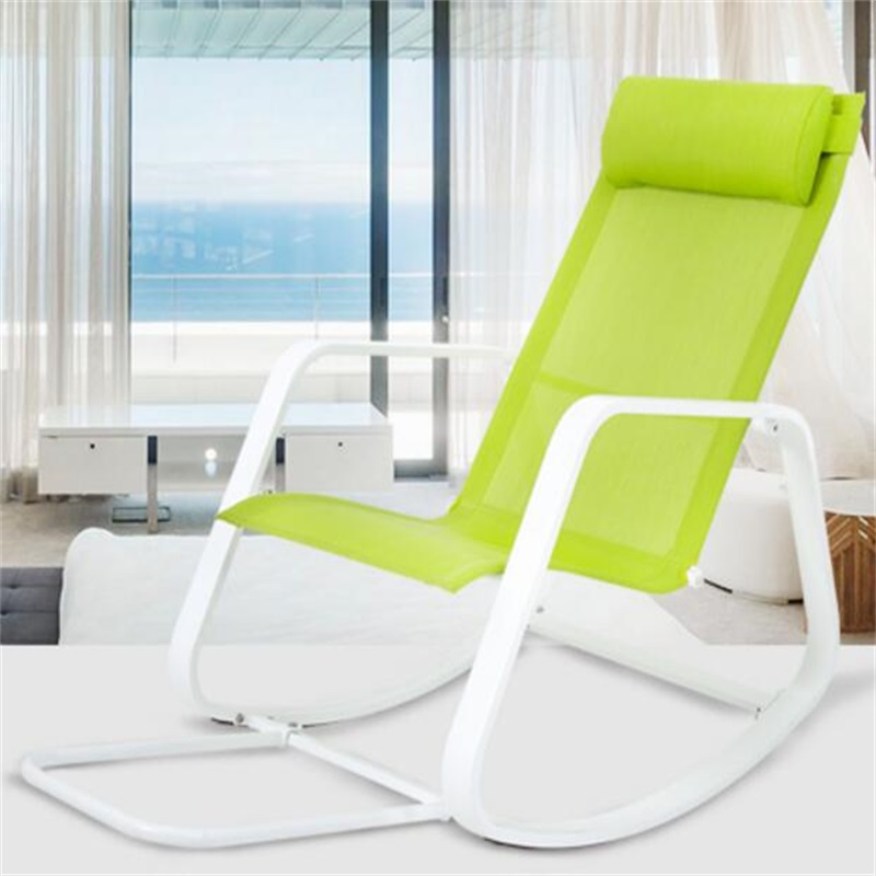 garden elderly chaise lounge balcony courtyard rocking chair outdoor swing sun lounger leisure beach lazy chairin chaise lounge from furniture on