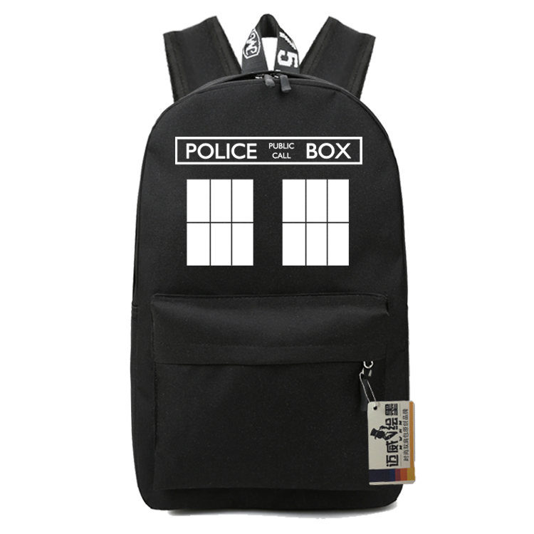 Doctor Who Kids School Bags Book Children Backpacks Cartoon Bag Teenages Fashion Nylon Shoulder Bagpack Students Travel Bags