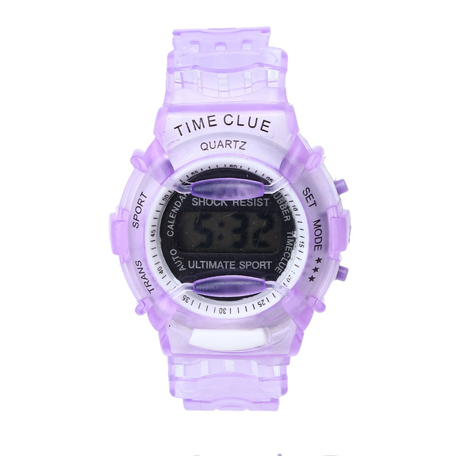 2018 Boys Girls Children Students Waterproof Digital Wrist Sport Watch New Frees