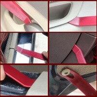 Ferramentas de remoção do painel do carro guarnição pry porta traço plástico instalação 6 peças conjunto acessório ferramenta útil Acessórios de pneus     -