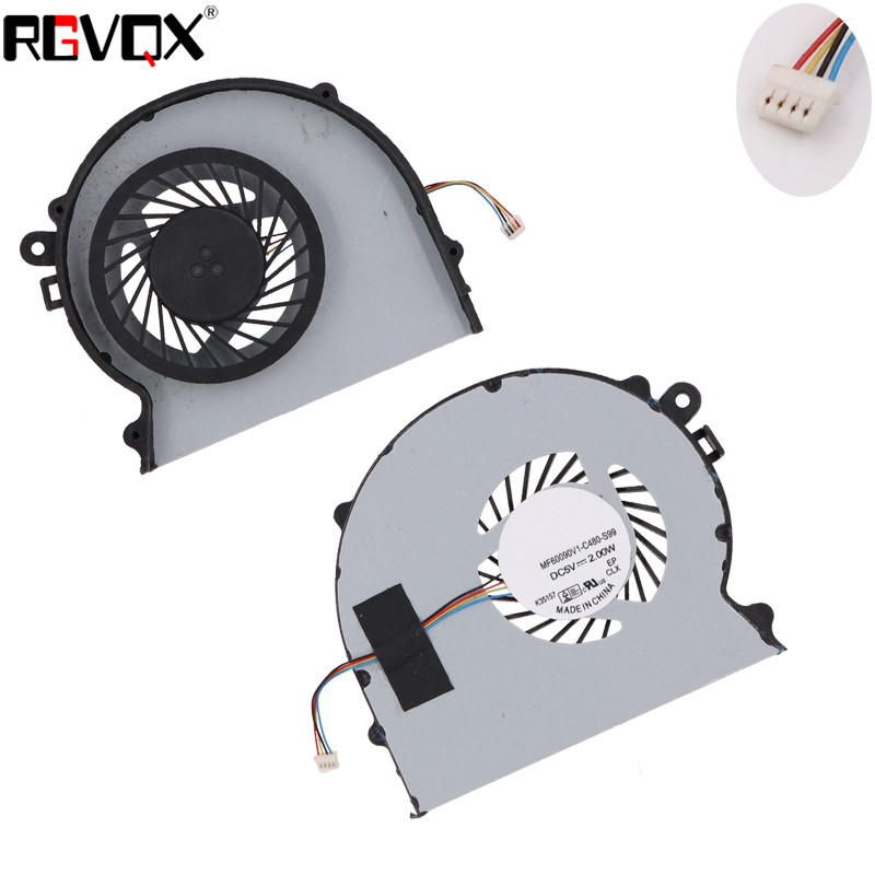 Купить с кэшбэком New Laptop Cooling Fan For SONY VPC-SD VPC-SA VPC-SB PN: KSB06105HB CPU Cooler Radiator