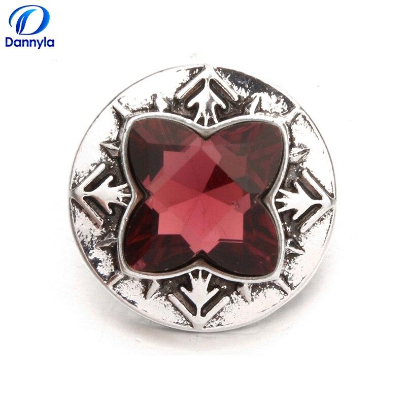 d90258cd26 Aliexpress.com : Buy 5pcs vintage snap charms wholesale 7 color rhinestone  snap button fit DIY women snap bracelet &necklace pendant LSSN369*5 from ...