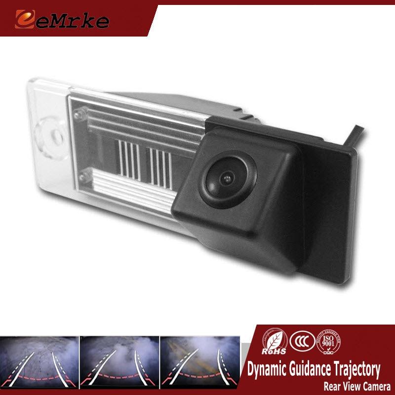 EEMRKE Dynamic Trajectory Parking Line Camera Vehicle Rearview Reversing Tracks Camera For Hyundai Tucson IX35 2014