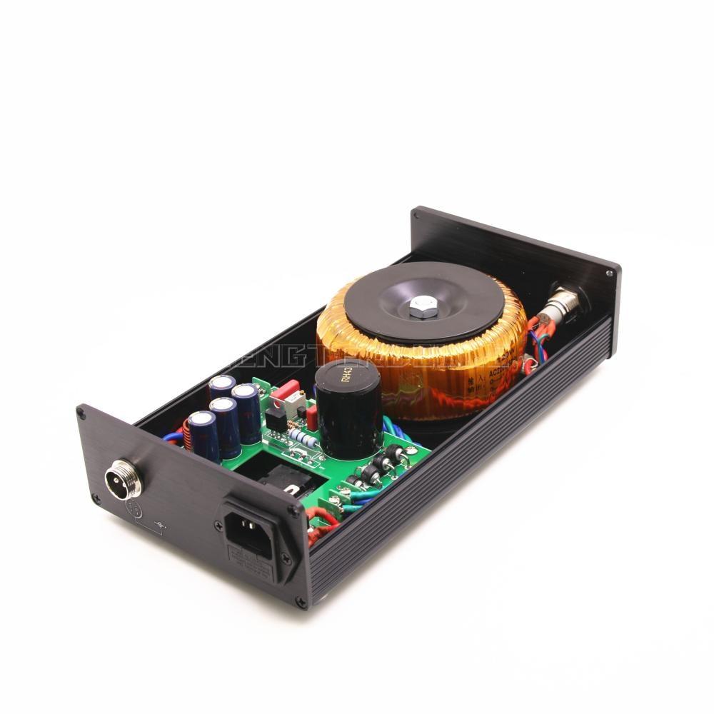 Nero 120VA Lineare DC Power Supply DC uscita 5 V 9 V 12 V 15 V 18 V 24 V HiFi PSU Può Scegliere - 5