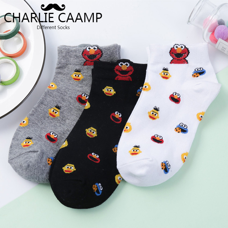 Ladies Cotton   Socks   Autumn Winter New Frog Three Dimensional Cartoon Ship   Socks   Personality Fashion Women Trend Crew   Socks   L117
