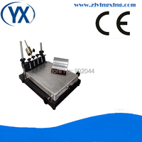 Vender Impresora de pantalla cilíndrica Manual SMT para pasta de soldadura