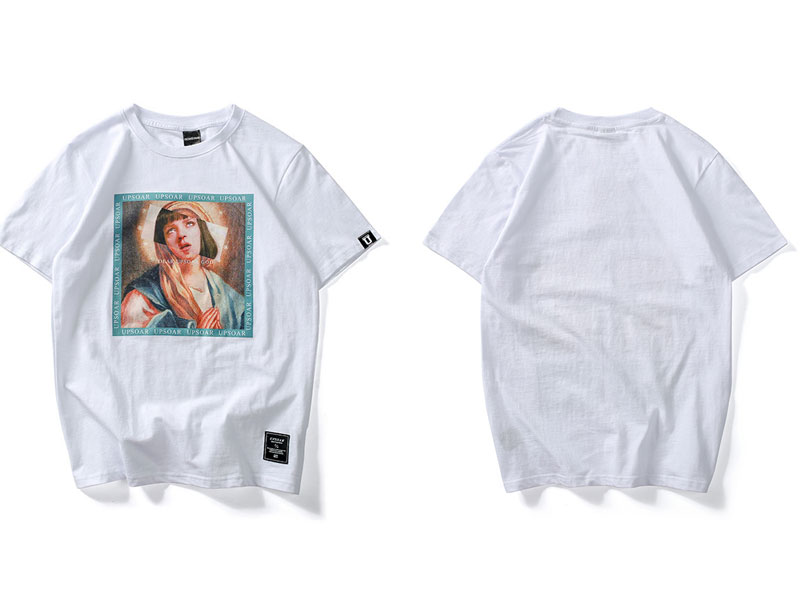 Virgin Mary Men's T-Shirts 2