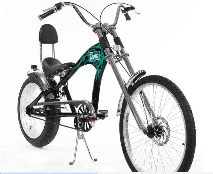 Orijinal X-Ön Marka Snowmobile 4.0 Fat Tire MTB Harley səyahət - Velosiped sürün - Fotoqrafiya 2