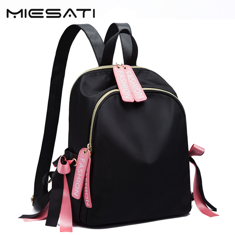 MIESATI Women Backpack Female Cute Oxford Backpacks For Girls Famous Designer Travel School Bag Ladies Backpack Bag High Quality zooler women s backpack eyes sequined designer black cartoon eyes backpacks travel bag cute shell backpacks for teenager girls