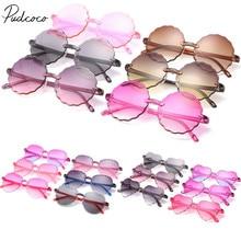 Детские летние аксессуары, детские солнцезащитные очки для девочек, солнцезащитные очки для отдыха, защита от солнца, UV400 солнцезащитные очки, детский реквизит, подарок