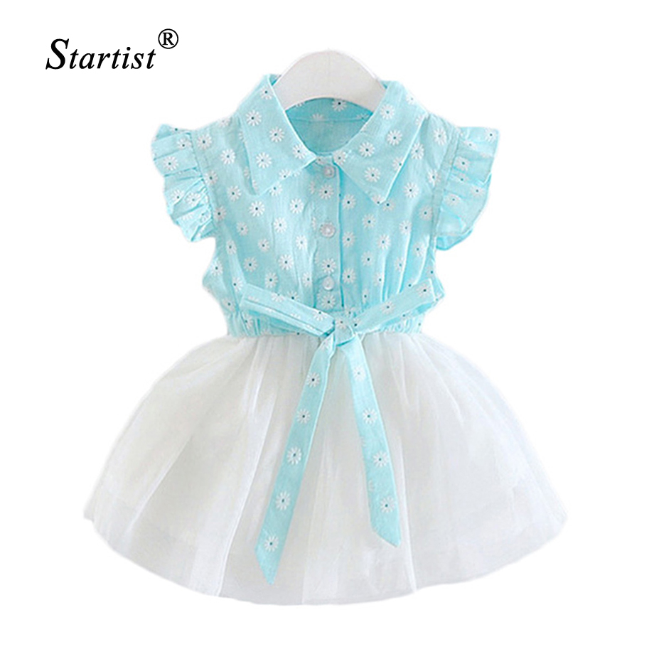 Baby Dresses For Girls Summer Baby Girl Dress Flower Embroidery Vestidos Infantil Baby Clothes Dress For Girls Baby Clothes