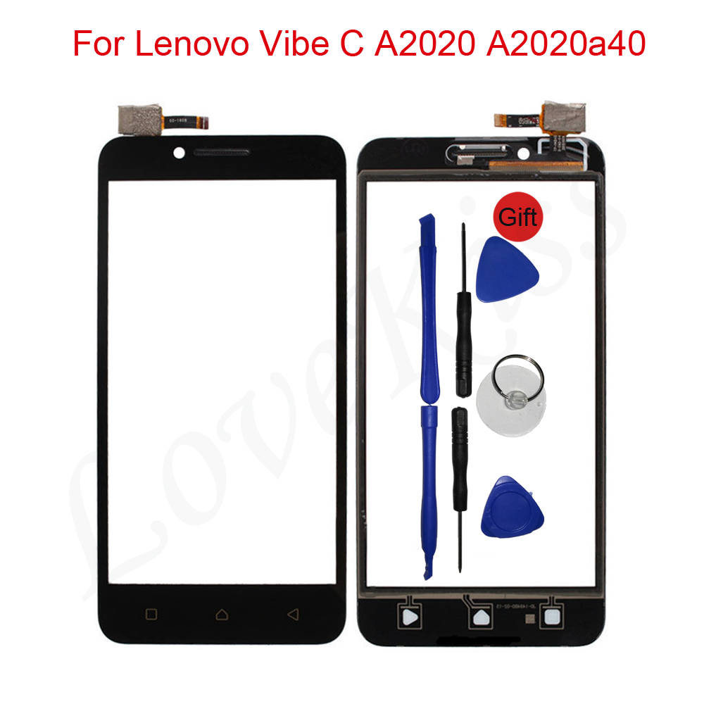 White/Black For Lenovo Vibe C A2020 A2020a40 LCD Display with Touch