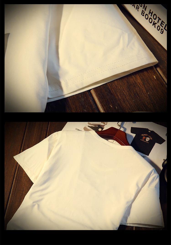 New Arrival Men t shirt Print T-shirt Men High Quality Cotton Short Sleeve T Shirts Men Loose O-Neck T-shirts Plus Size S-4XL 30