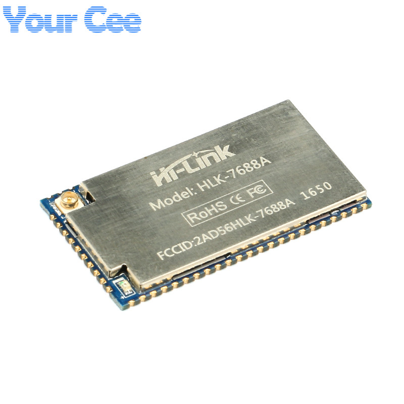 1 Pc HLK-7688A Module MT7688AN Chip Supports Linux/OpenWrt Smart Devices And Cloud Services Applications MT7688A