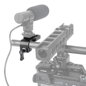 """Image 4 - NICEYRIG Mini Quick Release Plate 15mm Rod Clamp for 1/4"""" 3/8"""" Cheese Plate Bracket Camera Rig Clamp Cold Shoe Microphone Stand"""