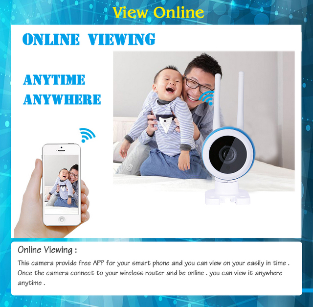 Wireless Outdoor IP Camera Wifi Metal Case waterproof 720P Night Vision Security Cam HD Cctv P2P H.264 Android IOS Windows FHG