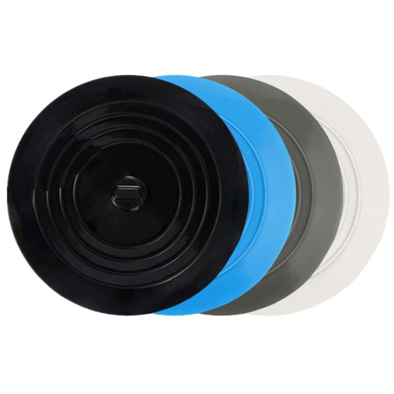 15cm Sewer Filter 4color Water Rope Plug And Hook Cover Sink Filter Silicone Kitchen Bathroom Deodorant Shield Sink Bathtub