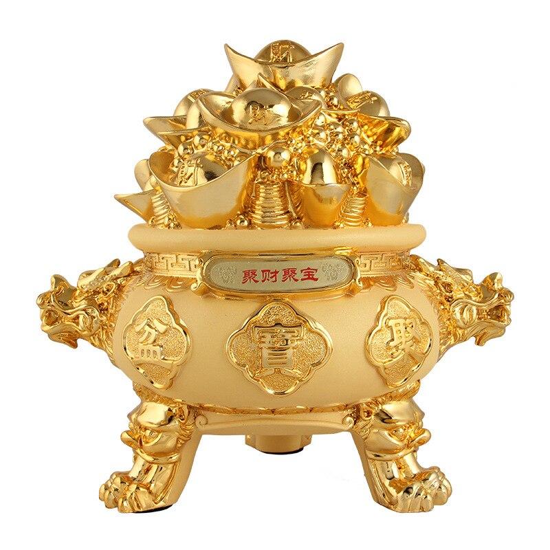 Trésor bol décoration maison décoration accessoires pour salon rustique décor maison feng shui miniature jardin