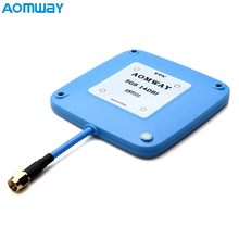Originele Aomway 5.8 GHz 14dBi High Gain Platte FPV Ontvanger Antenne RHCP Voor FPV Racing Drone Multicopter Deel(China)