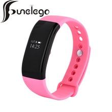 Funelego Смарт Браслет Bluetooth монитор сердечного ритма часы Браслет Смарт-наручные часы фитнес спортивные A1 модель износа устройства