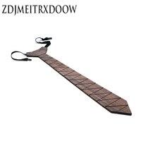 ZDJMEITRXDOOW Design Fashion Wooden Neckties Ties For Men Suit For Party Geometric ties Gravata Mens Neck tie Sets