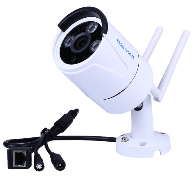 SN-IPC-7042SW Dual-frequency 3 LED Wifi Camera IP 720P IP Camera Wireless Outdoor Waterproof Camera